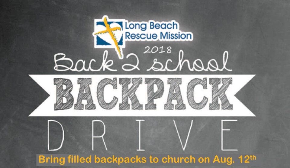 Back2School Backpack Drive