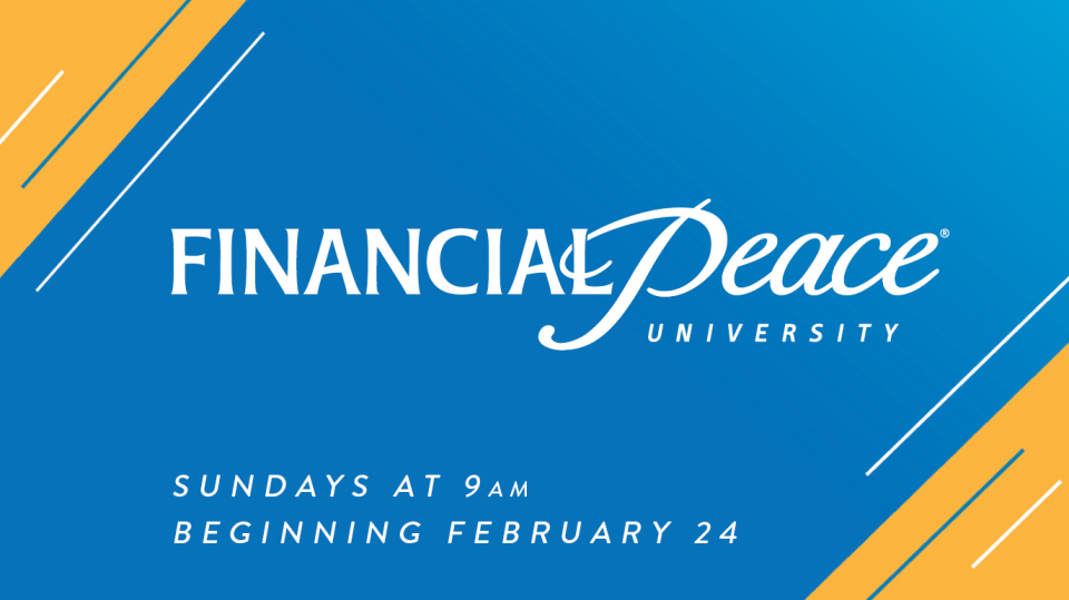 Financial Peace University - Spring 2019