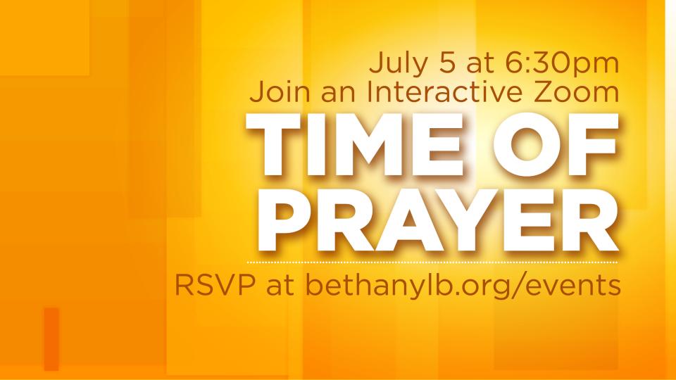Time of Prayer | July 5
