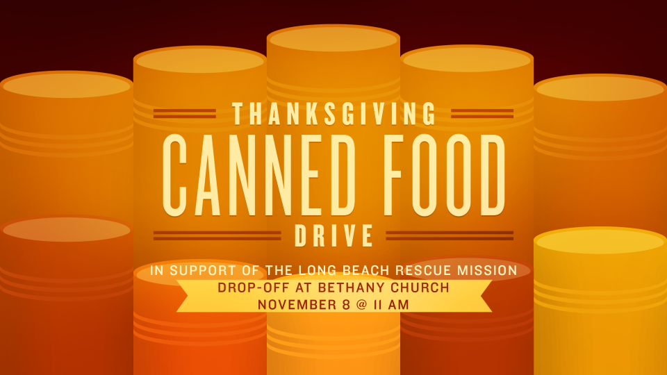 Operation Turkey Drop & Canned Food Drive Thru Event